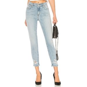 AGolde Sophie Crop Jeans in Vertigo